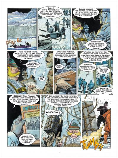 Page 2 Les Sentinelles tome 4 - Les Dardanelles