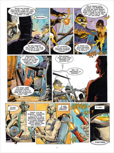 Page 3 Les Sentinelles tome 4 - Les Dardanelles