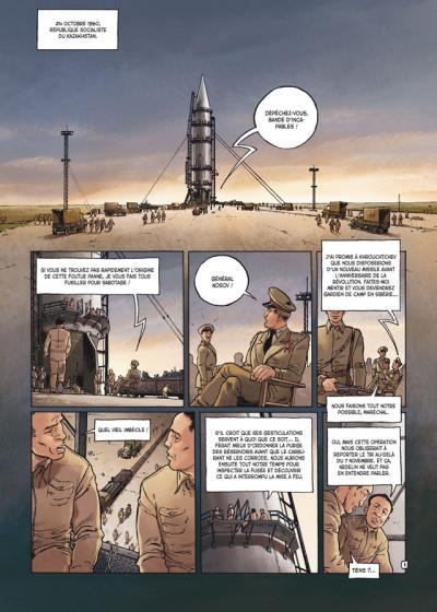 Page 1 la guerre secrète de l'espace tome 2 - 1961, Gagarine