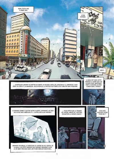 Page 3 la guerre secrète de l'espace tome 2 - 1961, Gagarine