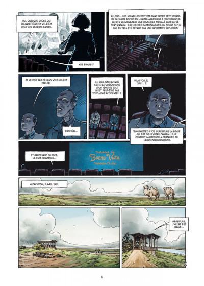 Page 4 la guerre secrète de l'espace tome 2 - 1961, Gagarine