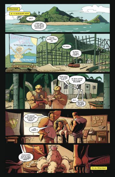 Page 1 Tony Chu, détective cannibale tome 2