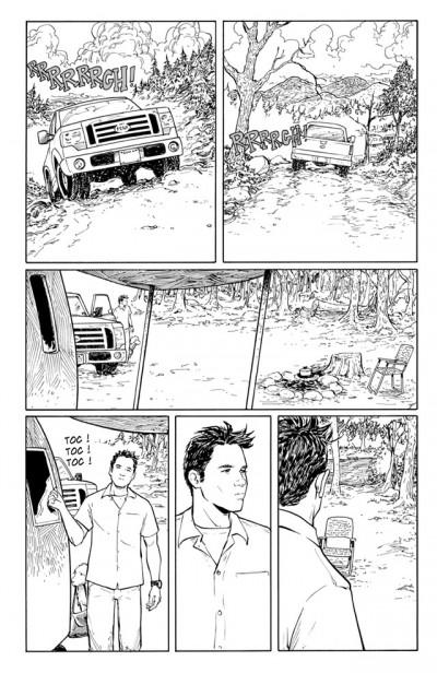 Page 1 echo tome 5 - trou noir