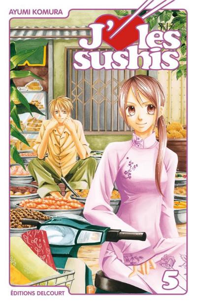 image de j'aime les sushis tome 5