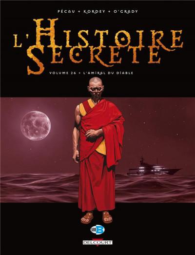 Couverture L'histoire secrète tome 26 - l'amiral du diable