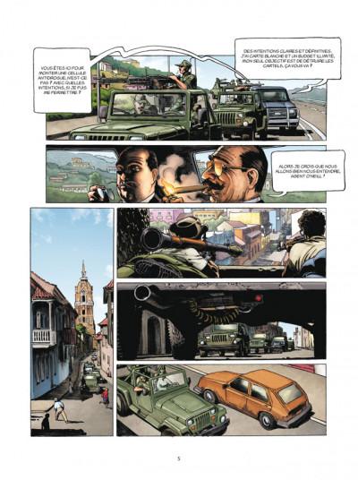 Page 3 L'histoire secrète tome 26 - l'amiral du diable