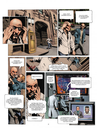 Page 4 l'histoire secrète tome 31 - les maîtres du jeu
