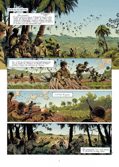 Page 1 la grande évasion tome 4 - Diên Biên Phu