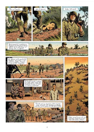 Page 2 la grande évasion tome 4 - Diên Biên Phu