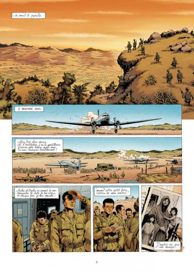 Page 3 la grande évasion tome 4 - Diên Biên Phu