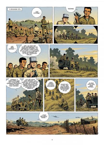Page 4 la grande évasion tome 4 - Diên Biên Phu