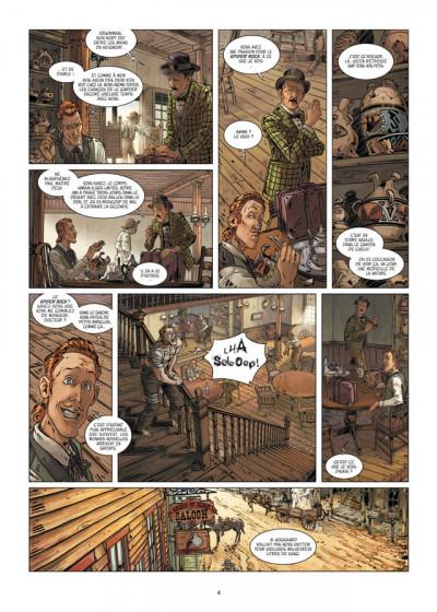 Page 2 l'homme qui n'aimait pas les armes à feu tome 2 - sur la piste de Madison