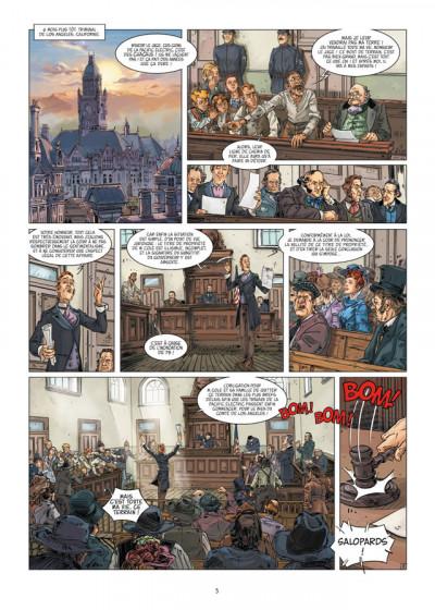 Page 3 l'homme qui n'aimait pas les armes à feu tome 2 - sur la piste de Madison