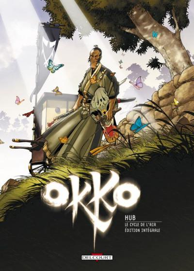 Couverture Okko - le cycle de l'air - intégrale tome 5 et tome 6