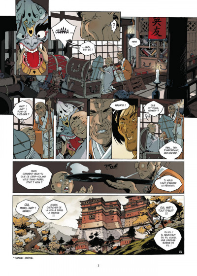 Page 1 Okko - le cycle de l'air - intégrale tome 5 et tome 6