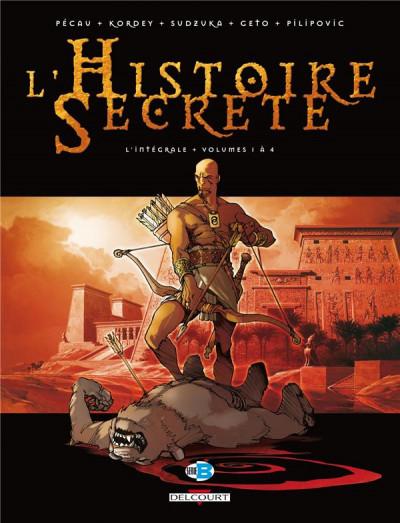 Couverture L'histoire secrète - intégrale tome 1 à tome 4