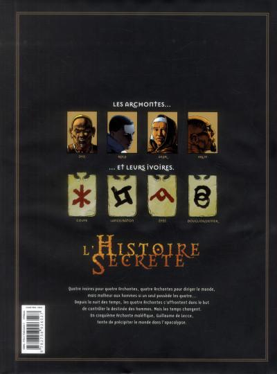 Dos L'histoire secrète - intégrale tome 1 à tome 4