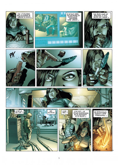 Page 3 le chant des stryges tome 14 - saison 3 - édition luxe