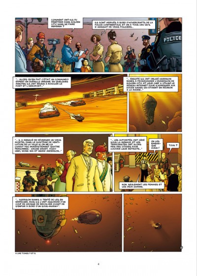 Page 2 golden city tome 9 - édition luxe