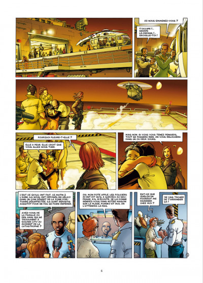 Page 4 golden city tome 9 - édition luxe