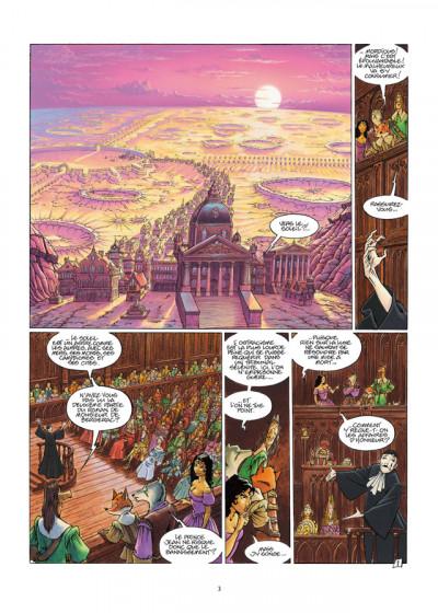 Page 1 de cape et de crocs tome 10 - de la lune à la terre - Édition 25 ans