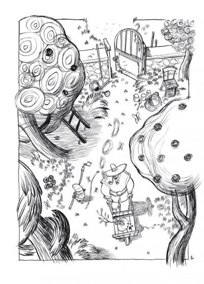 Page 1 trois ombres ; édition 25 ans Delcourt