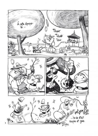 Page 2 trois ombres ; édition 25 ans Delcourt