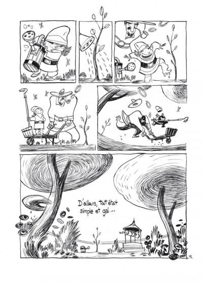 Page 3 trois ombres ; édition 25 ans Delcourt