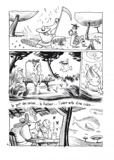 Page 4 trois ombres ; édition 25 ans Delcourt