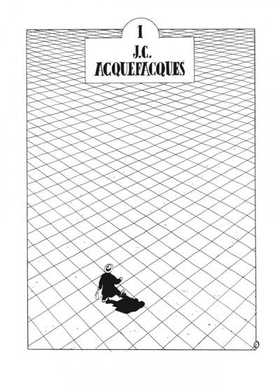 Page 1 Julius Corentin Acquefacques tome 1 - l'origine -  - édition 25 ans Delcourt
