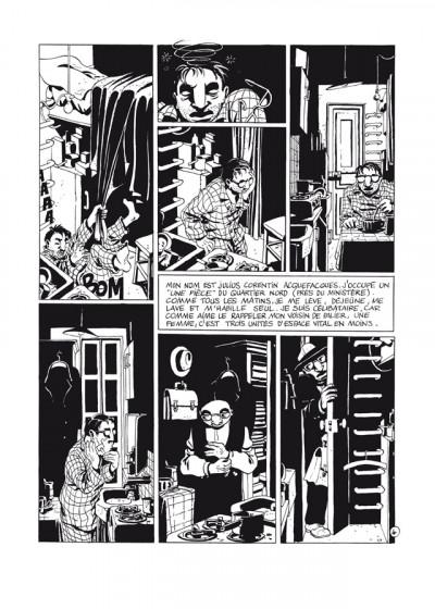 Page 4 Julius Corentin Acquefacques tome 1 - l'origine -  - édition 25 ans Delcourt