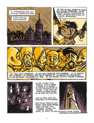 Page 2 pourquoi j'ai tué Pierre ; édition 25 ans Delcourt