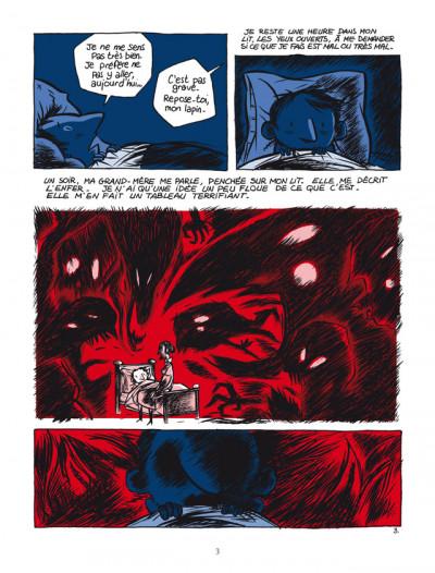Page 3 pourquoi j'ai tué Pierre ; édition 25 ans Delcourt