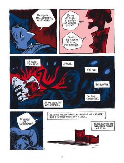 Page 4 pourquoi j'ai tué Pierre ; édition 25 ans Delcourt