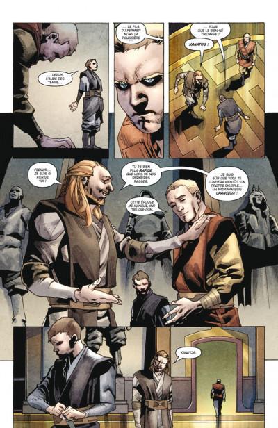 Page 4 Star Wars - légendes - l'Ordre Jedi T.1 - le destin de Xanatos