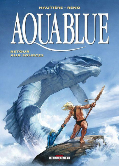Couverture aquablue tome 12 - édition luxe