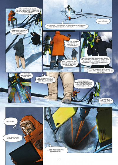 Page 2 aquablue tome 12 - édition luxe