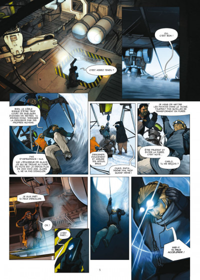 Page 3 aquablue tome 12 - édition luxe