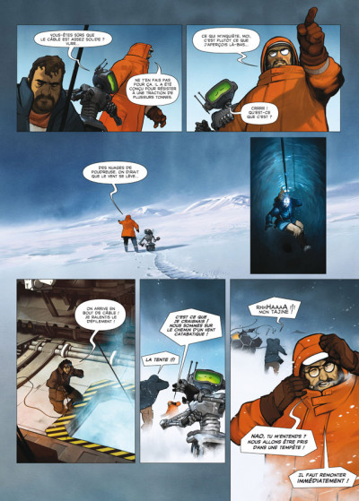 Page 4 aquablue tome 12 - édition luxe