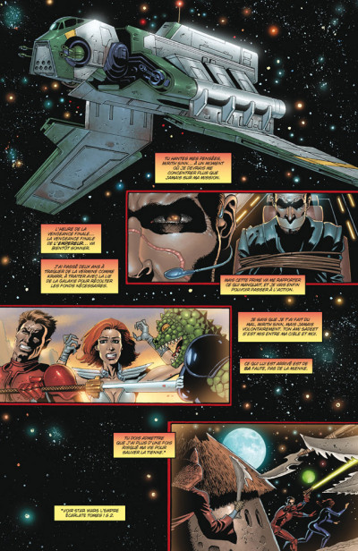 Page 4 star wars - l'empire écarlate tome 3 - l'empire perdu