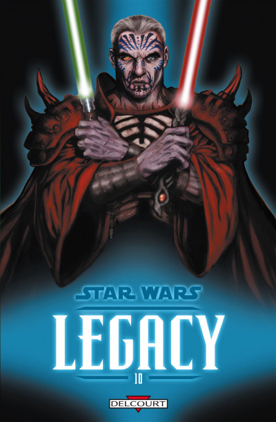 Couverture Star Wars - Legacy T.10 - guerre totale