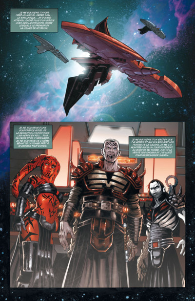 Page 1 Star Wars - Legacy T.10 - guerre totale