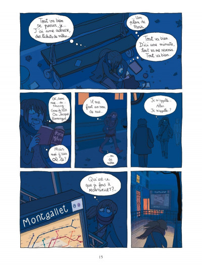 Page 8 la page blanche