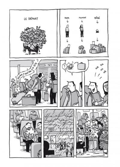 Page 4 chroniques birmanes ; édition 25 ans Delcourt