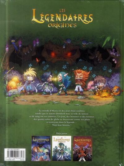 Dos Les légendaires - origines tome 1