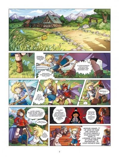 Page 1 Les légendaires - origines tome 1