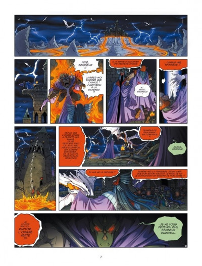 Page 5 Les légendaires - origines tome 1