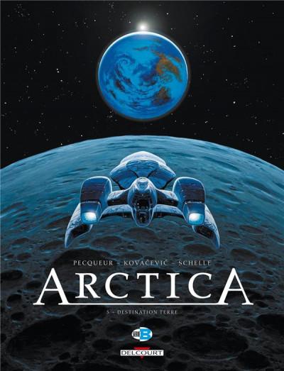 Couverture Arctica T.5 - destination Terre