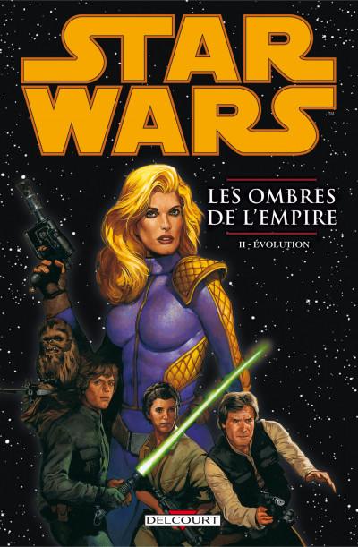 Couverture Star Wars - les ombres de l'empire tome 2 - évolution