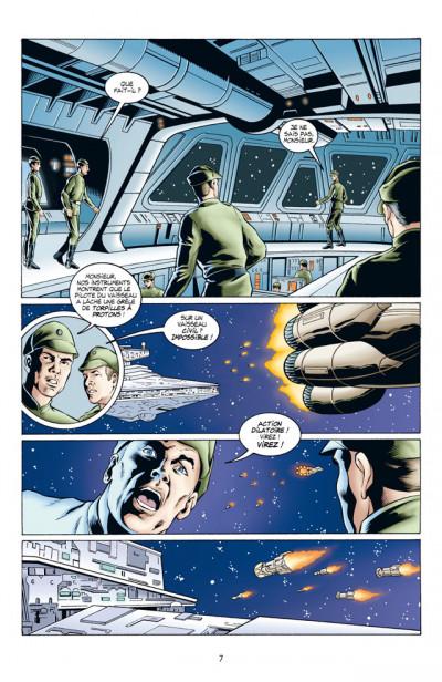 Page 3 Star Wars - les ombres de l'empire tome 2 - évolution